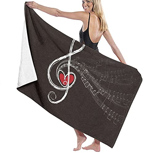 Toallas de baño Bela Bartok Music Toalla de playa Gimnasio Decoración vacaciones de verano para hombres y mujeres Super Absorbente largo secado rápido toallas 80x130 cm