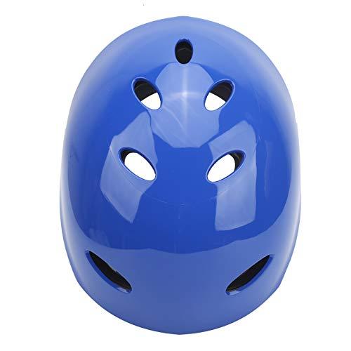Equipo de protección, Suministros de protección Casco de surf, Circunferencia de la cabeza ajustable 11 Orificios de ventilación para deportes acuáticos de rescate