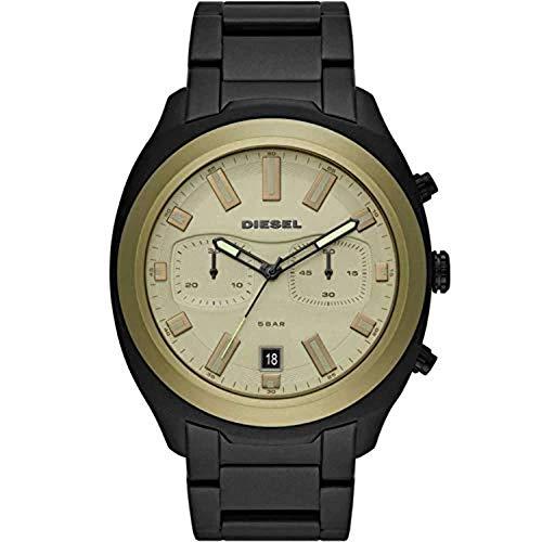 Diesel Reloj Cronógrafo para Hombre de Cuarzo con Correa en Acero Inoxidable DZ4497