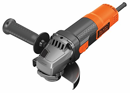 BLACK+DECKER BEG210K-QS Amoladora, 900 W, Disco 115 mm