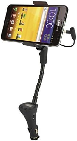 Car Mount Charger FM Radio Transmitter Charging USB Port for AT T LG G Vista 2 AT T LG G2 AT product image