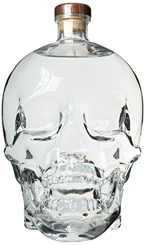 Crystal Head Wodka mit Geschenkverpackung (1 x 3 l)