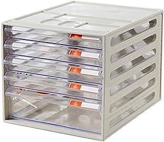 Classeurs WHLONG Affaires Accueil PC de Bureau Armoire de Rangement Fichier de données Organisateur tiroir A4 Articles de ...