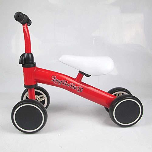 Planeo Y Bicicleta De Equilibrio Go, Ligero Bicicleta De Equilibrio Para Las Edades Para Niños De 1 A 3 Años, Sin Pedal De La Bicicleta Caminar Equilibrio De Formación Para Niños Y Niños Pequeños,Rojo