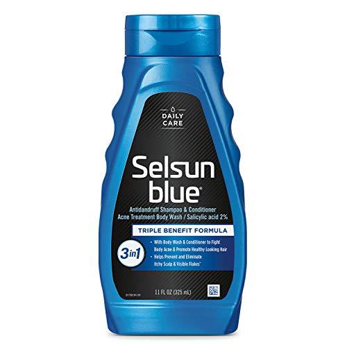 dandruff shampoos for dries Selsun Blue Active 3in1 Dandruff Shampoo, 11 Fl Oz