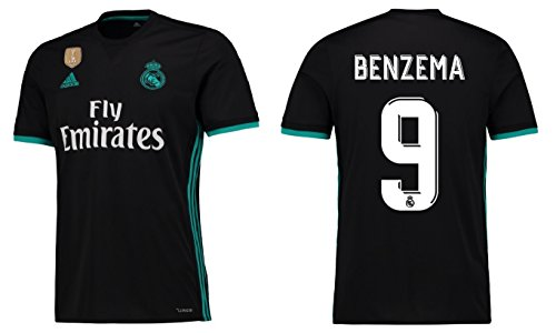 Trikot Herren Real Madrid 2017-2018 Away WC - Benzema 9 (L)