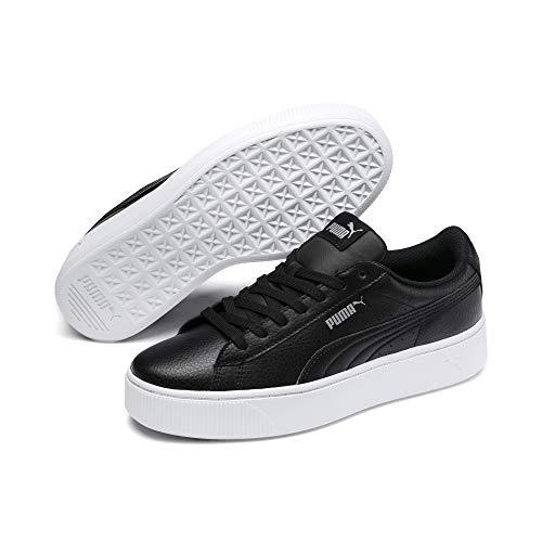 Puma Damen Sneakers Sneaker Puma Vikky Stacked L, Schwarz (Puma Black), 41 EU
