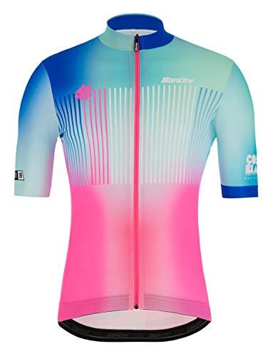 Santini La Vuelta-Costa Blanca 2019 Herren-Trikot XXL Mehrfarbig
