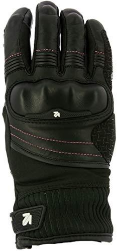 V Quattro Design Guantes de moto homologados CE Sofia para mujer, color negro M