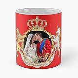 The Kiss Of Prince William And Kate Classic Mug