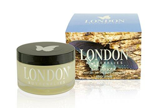 London Butterflies, Bath Salt Scrub Dead Sea 225g