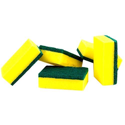 Pixnor–12Unidades esponjas de limpieza Ideal como olla Esponja Esponja De Cocina o estropajo