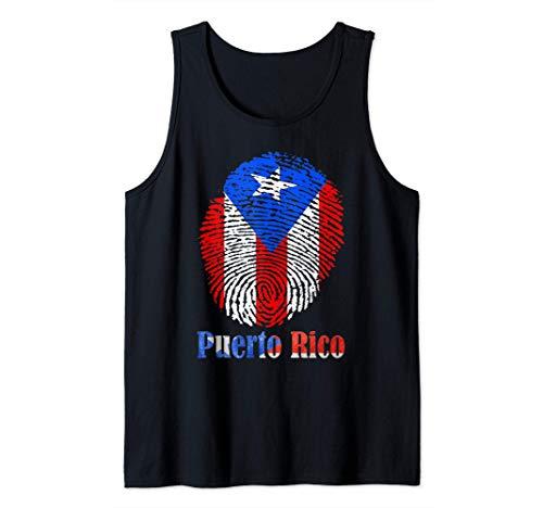 Bandera de Puerto Rico Imprimir Boricua Nuyorican Orgullo p Camiseta sin Mangas