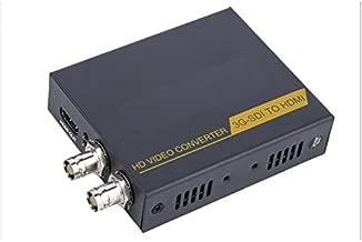 Rocsai SDI to HDMI SDI to SDI Adapter Converter 1080p for Driving HDMI Monitors Home Theater - Supports HD-SDI, SD-SDI and 3G-SDI Signals with Embedded Audio