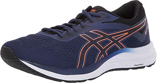 ASICS Men's Gel-Excite 6 Running Shoes, 10M, Indigo Blue/Shocking Orange