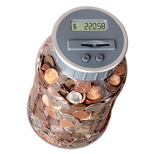 M&R Digital Counting Coin Bank.…