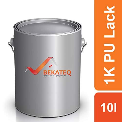 Bekateq LS-150 PU blanke lak voor hout, glanzend, houtlak voor parket, trappen, boot of jacht op polyurethaan basis 10L Ral3020 Verkehrsrot