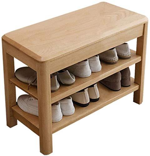 Banco de Zapatos de Almacenamiento Zapatero Inicio de Calzado Estantes Armario Espesado extraíbles ensambladas Zapatos umbral de Prueba de heces Porche Taburete Cambiar Zapatos