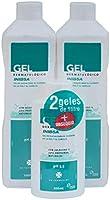 INIBSA - Gel De Ducha Para El Cuidado De La Piel Y El Cabello, Ahorro Pack Dermatológico 2xl + Gel 200ml