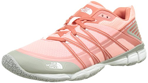 The North Face W Litewave Ampere, Chaussures de Fitness femme, Rose (Neon Peach/Tropical Coral), 36 EU
