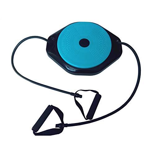 HISROOM Twist Sportgerät Fitness Drehscheibe Hüft-Trainer Twist Board Balance Board Massage Drehplatte Corde De Fitness Rétractable Für Übungen Für Hüften Und Taille Fitness Und Bewegung Elegant