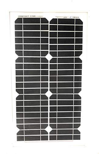 TEMPO DI SALDI Pannello Ad Energia Solare Fotovoltaico 30W 12V Con Celle In Silicio E Pinze