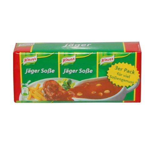 Salsa Knorr salsa de Hunter (Jäger salsa), paquete de 3 - 3...