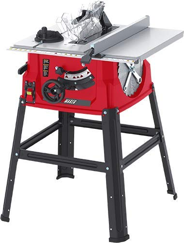 PROMAKER Table Saw 10in (254MM) 15.5Amp 1800W PRO-SB1800