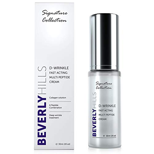 Anti Ageing D-Wrinkle Peptide Cream for Wrinkles, Skin Elasticity and...
