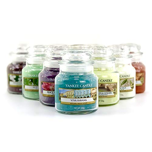 Yankee Candle 3 x Official Assorted Fragrances Lucky Dip Signature Classic Small Mini 104g Jars
