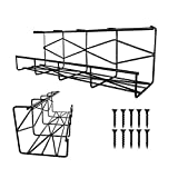 Erytlly Under Desk Cable Tray Organizer, Wire Management Tray for Home, Metal Wire Cable Tray for Office, Home, Studio and Kitchen