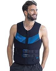 Jobe Heren 50N Neopreen Wetsuit Watersport Waterski Jetski Wakeboarden Veiligheids Impact Vest - Top 244920004 - Zwart Blauw