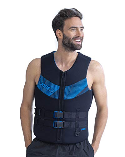 Jobe Neopreen Vest Men botsbescherming zwemvest wakeboard waterski Blue