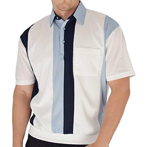 Classics by Palmland Knit Banded Bottom Shirt (XL, LtBlue)