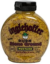 Inglehoffer Dijon Stone Ground Mustard, 10.25 Ounce Squeeze Bottle (Pack of 6)
