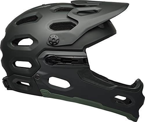 BELL Super 3R MIPS Adult Mountain Bike Helmet - Matte Green (2021), Medium (55-59 cm)