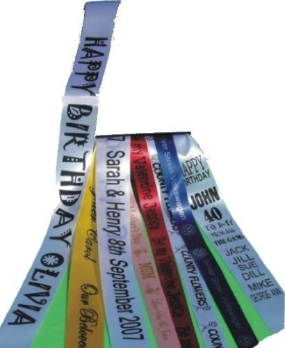 Personalised DELUXE SASH 16TH 18TH 30TH 40TH 50TH 60TH 70TH 80TH 90TH 100TH SASHES