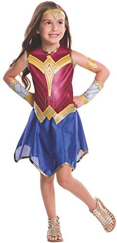 (Medium) - Rubie's Costume Batman vs Superman: Dawn of Justice Wonder Woman Value Costume, Medium