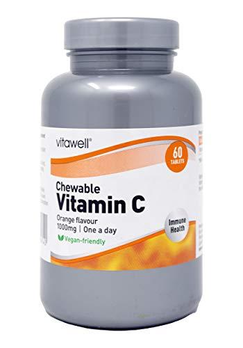 Chewable Vitamin C Orange Flavour 1000 mg