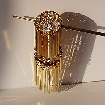 Japan kimono Hair Sticks Hairpin Hair Comb Hair Accessories Hair Decoration For Wedding Antique Geisha Decorative  gold