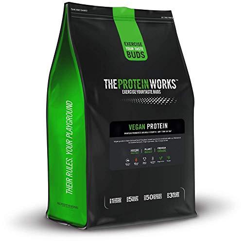 Veganistische proteïnepoeder | 100% natuurlijk, glutenvrij, uniek mengsel van eersteklas plantaardige eiwitten | The Proteïne Works, Cookies 'n' Cream, 1 kg