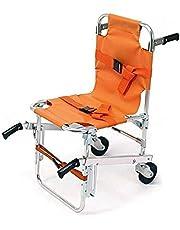 Silla para escaleras EMS - Ambulance Firefighter Evacuation Medical Lift Silla para sillas con hebillas de liberación rápida