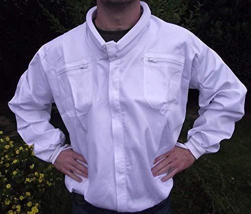 Top Apiculteurs Vêtements : Imkerjacke avec Wulstkragen en Taille XL (58/60)