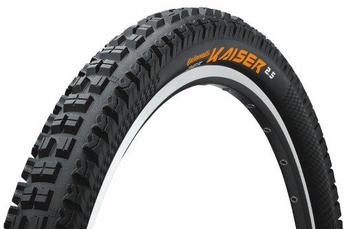 Continental MTB - Reifen Der Kaiser 2.5 Fahrradreifen, schwarz, 26 x 2.5