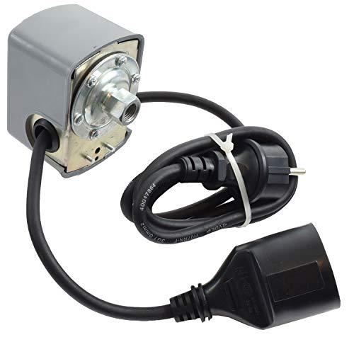 Agora-Tec® Pumpen Druckschalter mechanisch AT-DWMv-6C verkabelt