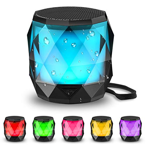 LFS Portable Bluetooth Speaker with Lights