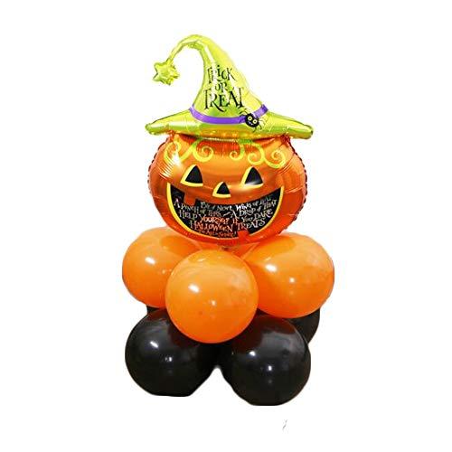 ZXJUAN (2 pakken Halloween pompoen geest ballon Ktv Bar Mall decoratie Pasen Masker