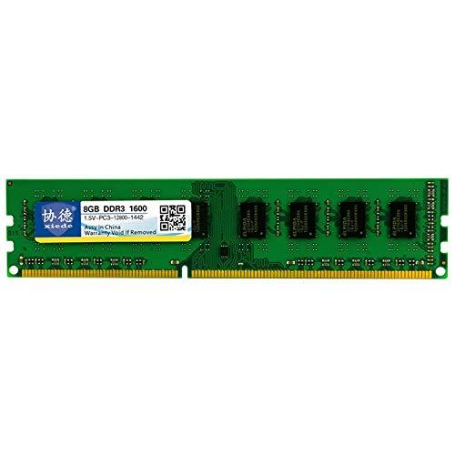 Sevenplusone licht en mooi, gemakkelijk te transporteren - DDR3 1600 MHz X041 8GB General AMD speciale RAM-modules voor PC desktop opslagruimte, 8 GB
