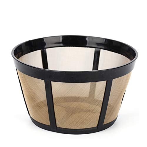 Reusable Coffee Filter, fits BUNN Coffee Maker and Brewer Replaces your BUNN Coffee Filter 8 10 12 Cup Basket and BUNN Permanent Coffee Filter(1 PCS)
