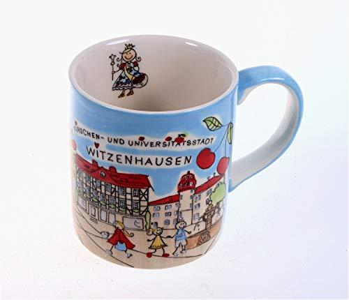 Mila Tasse Witzenhausen Porzellan handbemalt Becher Tasse Souvenir Sammeltasse Schloss Berlepsch